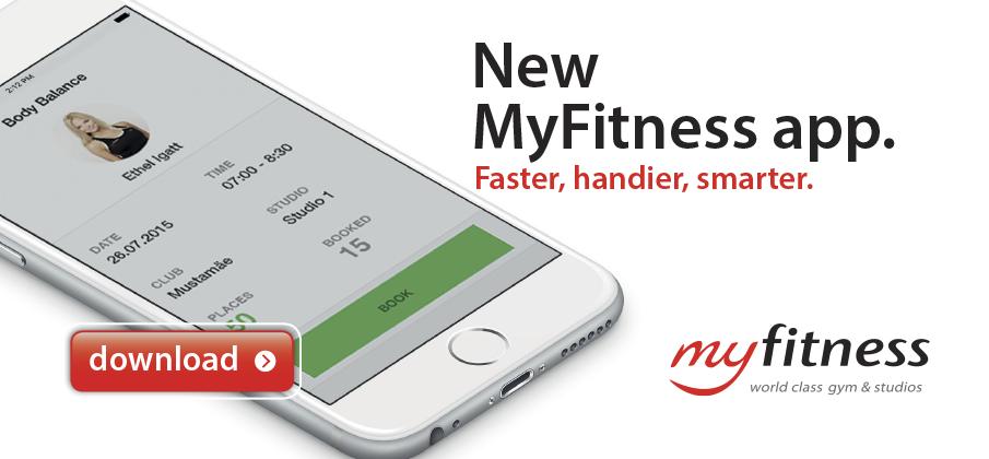 MyFitness mobile app