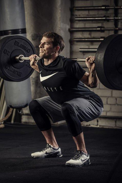 Kļūdas treniņos: Fizisku treniņu trūkums